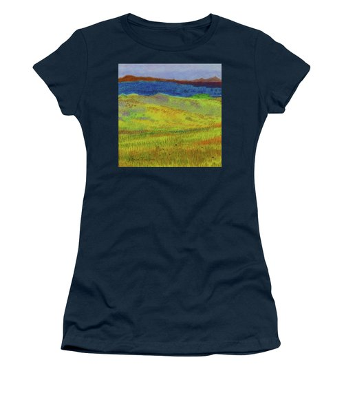 Women's T-Shirt featuring the painting Dakota Dream Land by Cris Fulton
