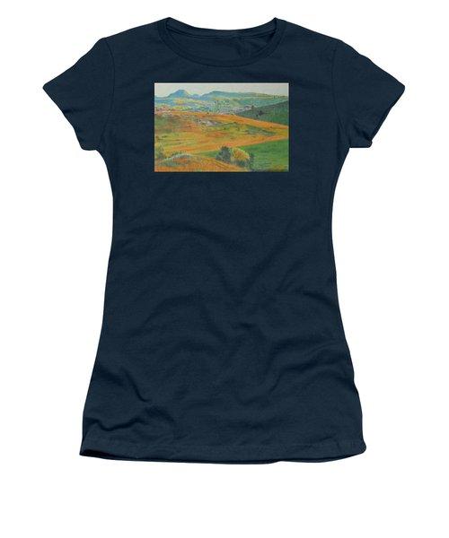 Women's T-Shirt featuring the digital art Dakota Prairie Dream by Cris Fulton