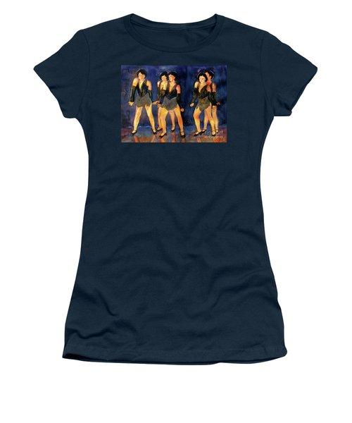 Dancers  Spring Glitz     Women's T-Shirt (Athletic Fit)