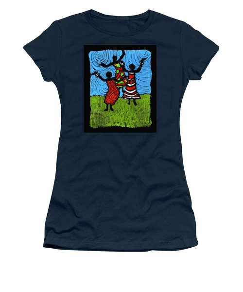 Dancing So Good I Started To Fly Women's T-Shirt (Athletic Fit)