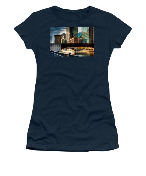 Dearborn Bridge Women's T-Shirt (Athletic Fit)