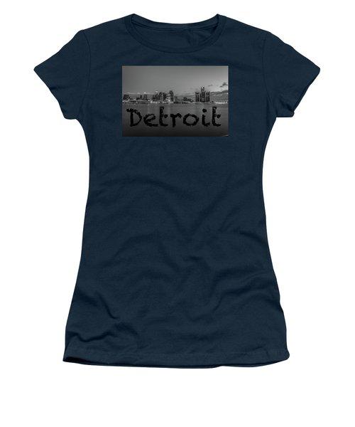 Detroit City  Women's T-Shirt (Athletic Fit)