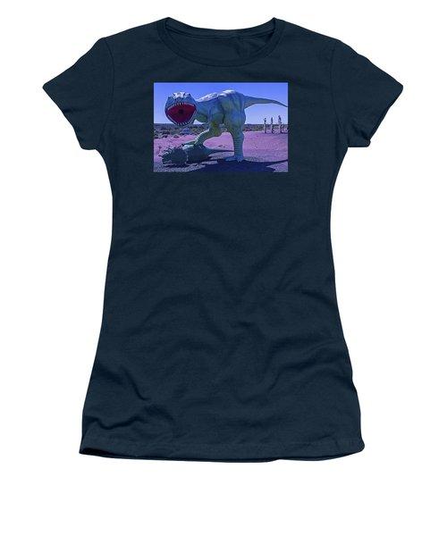 Dinosaur With Kill Women's T-Shirt