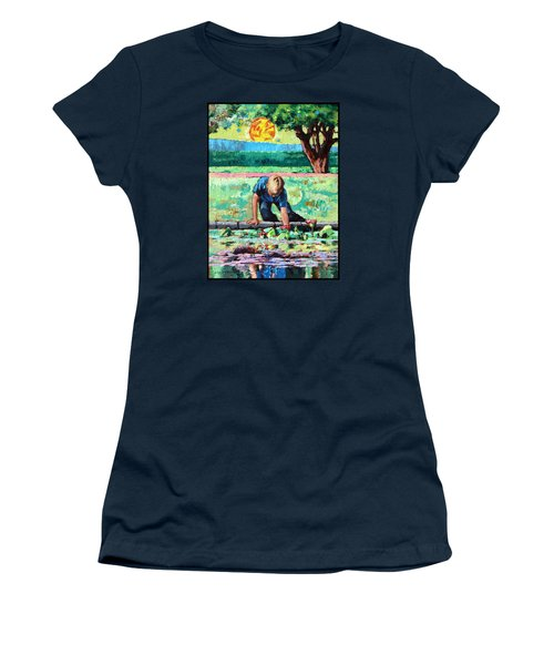 Discovering A World Of Beauty Women's T-Shirt (Junior Cut) by John Lautermilch