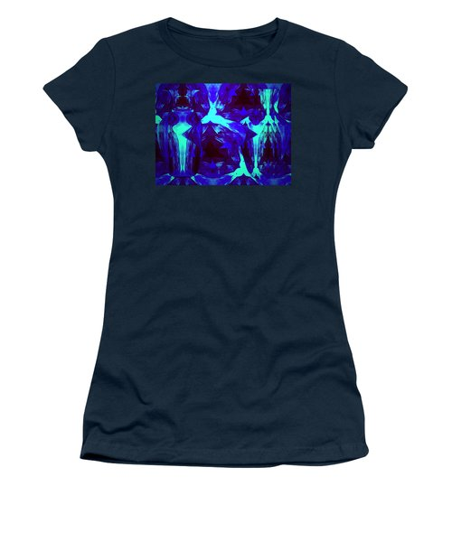 Women's T-Shirt (Junior Cut) featuring the photograph Division Of Light by Joyce Dickens
