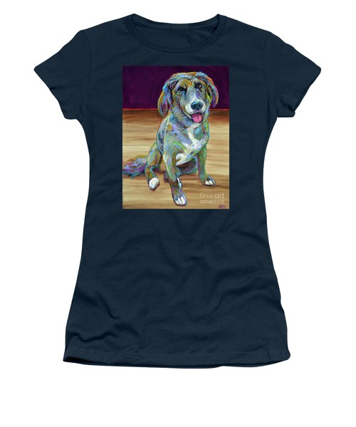 Women's T-Shirt (Junior Cut) featuring the painting Doc by Robert Phelps