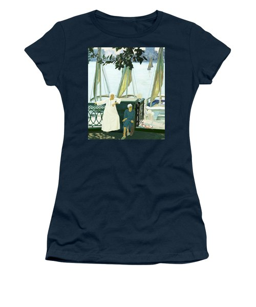 Dok Dok Landing Stage Women's T-Shirt (Athletic Fit)