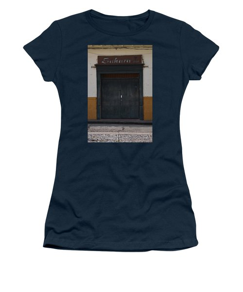 Door # 2 Women's T-Shirt (Athletic Fit)