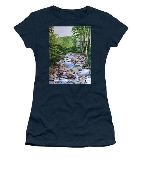 Down Stream  Women's T-Shirt
