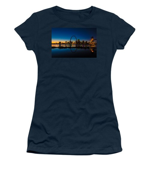 Downtown St. Louis And The Gateway Arch Women's T-Shirt