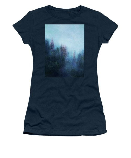 Dreamy Winter Forest Women's T-Shirt (Athletic Fit)