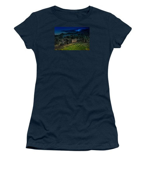 Drifting Down To Antonitio Women's T-Shirt (Junior Cut) by J Griff Griffin