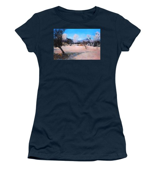 Dry Wash In Winter Women's T-Shirt (Junior Cut)