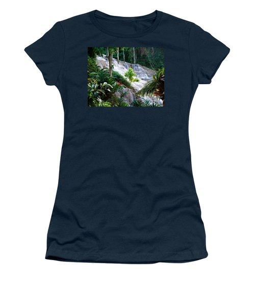 Dunn's River Falls Jamaica Women's T-Shirt