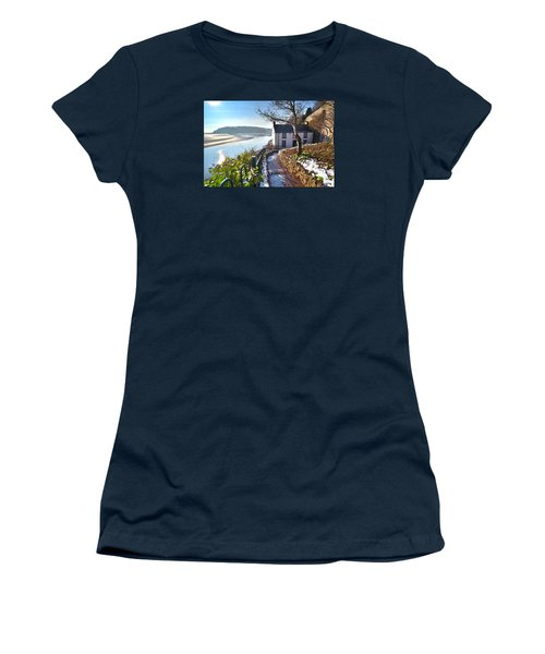 Dylan Thomas Boathouse 1 Women's T-Shirt (Athletic Fit)