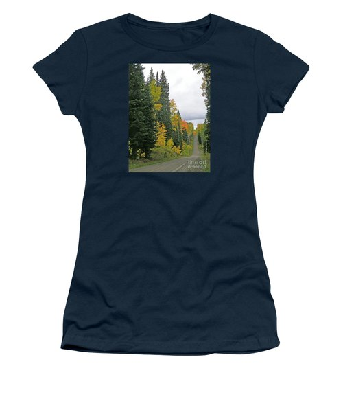 Early Fall Color Display In Colorado Women's T-Shirt (Athletic Fit)