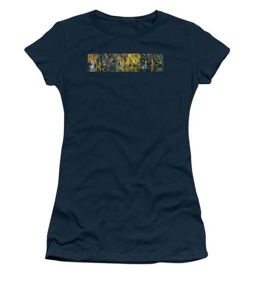 Early Morning Swampscape Women's T-Shirt (Athletic Fit)
