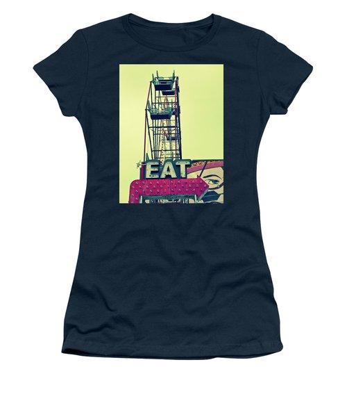 Eat Sign Women's T-Shirt