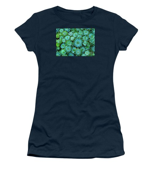 Echeveria 2 Women's T-Shirt (Junior Cut) by Ranjini Kandasamy