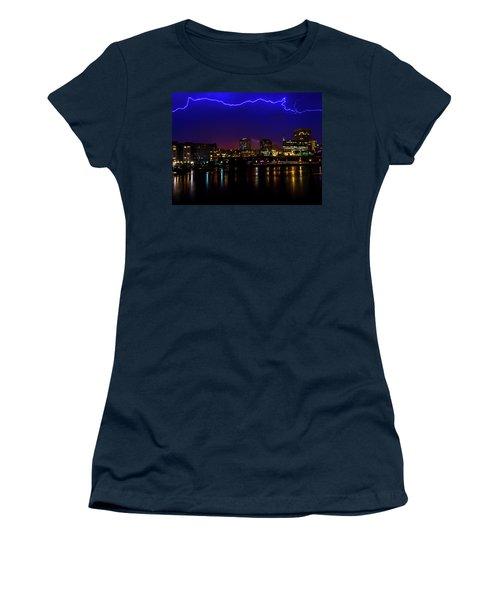 Electric Blue Women's T-Shirt