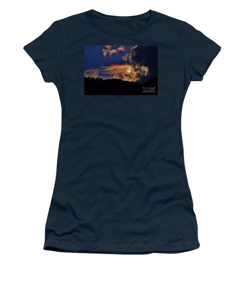 Women's T-Shirt (Junior Cut) featuring the photograph Electric Rainbow by Craig Wood