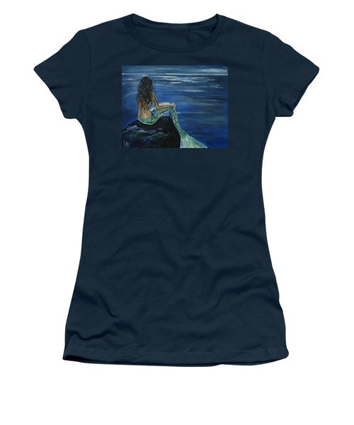 Enchanted Mermaid Women's T-Shirt (Athletic Fit)