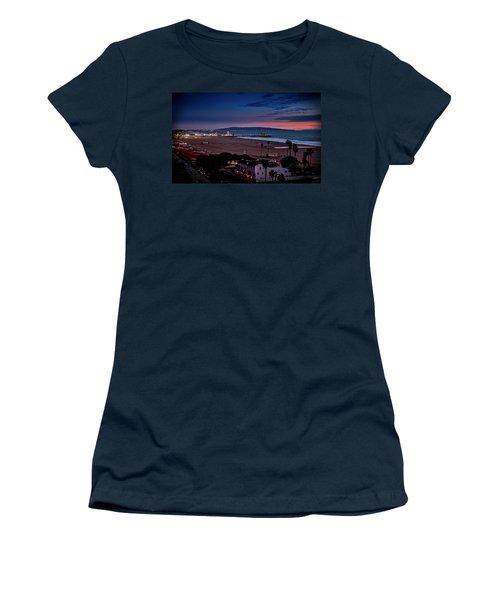Evening Glow On The Pier Women's T-Shirt