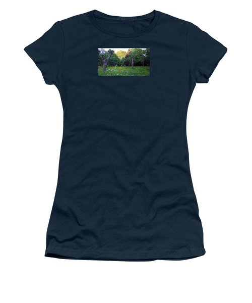 Women's T-Shirt (Athletic Fit) featuring the photograph Evening Light by Anne Kotan