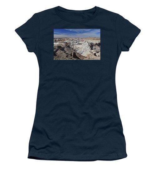 Women's T-Shirt (Junior Cut) featuring the photograph Evident Erosion by Gary Kaylor