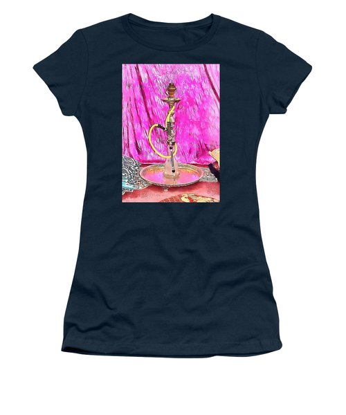 Exotic Oriental Hookah Pipe 1 Women's T-Shirt (Athletic Fit)