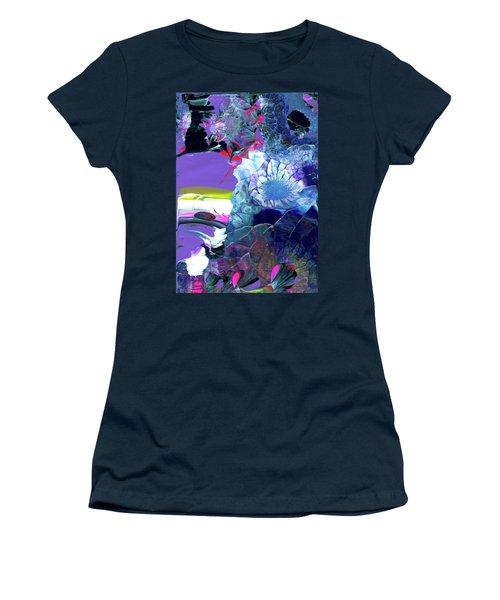 Exotic White Rose Island Women's T-Shirt