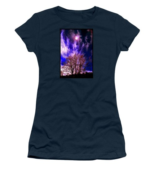 Fall Days In The Later World Women's T-Shirt (Junior Cut) by Susanne Still