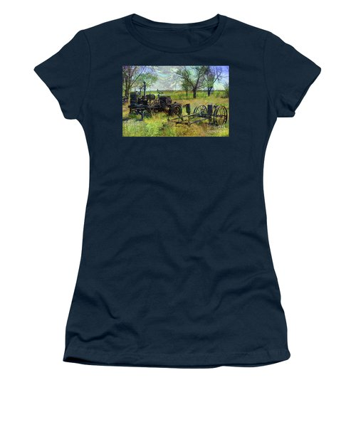 Farm Equipment Women's T-Shirt (Junior Cut) by Deborah Nakano
