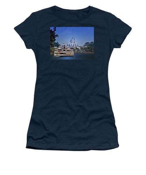 Ferry Boat Magic Kingdom Walt Disney World Mp Women's T-Shirt