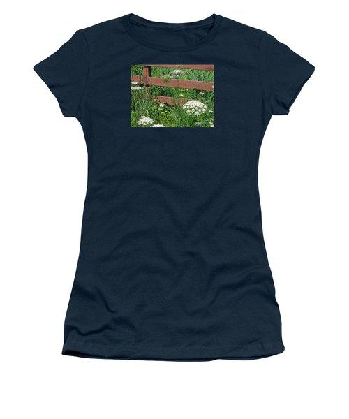 Field Of Lace Women's T-Shirt (Junior Cut) by Ann Horn