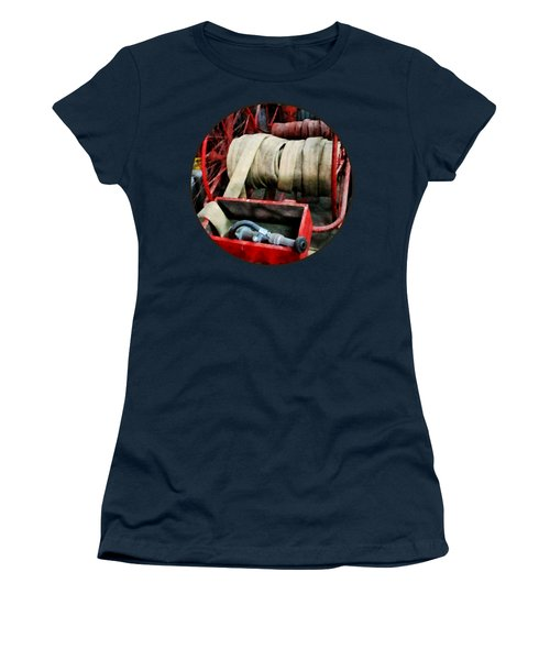 Fireman - Fire Hoses Women's T-Shirt (Athletic Fit)