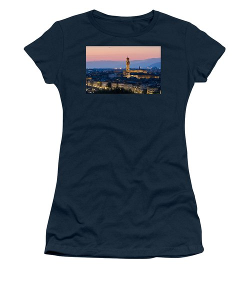 Firenze At Sunset Women's T-Shirt
