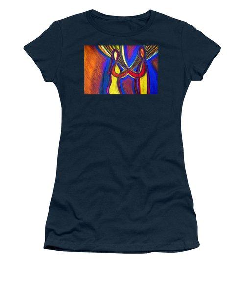 First Date Women's T-Shirt (Junior Cut) by Vadim Levin