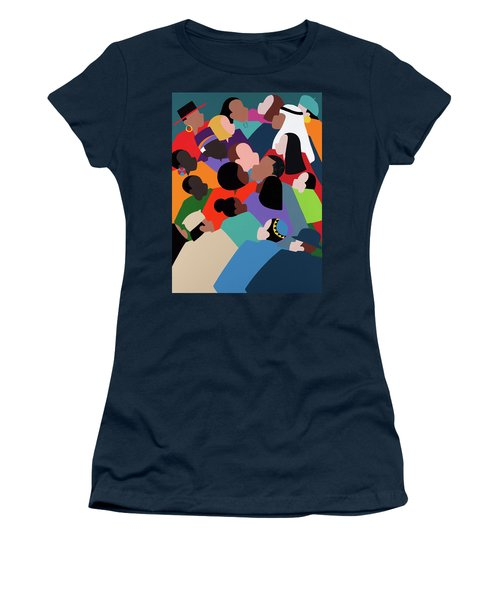 First Family The Obamas Women's T-Shirt (Athletic Fit)