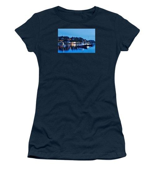 Fishing Boats Of Orban Women's T-Shirt (Junior Cut) by Robert Charity