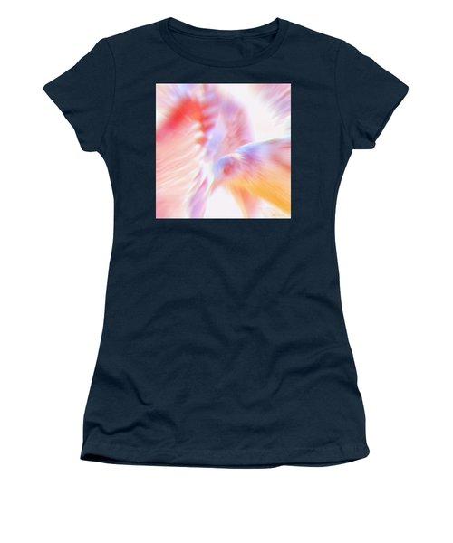 Flight Of The Seagull  Women's T-Shirt (Junior Cut) by Glenn Gemmell