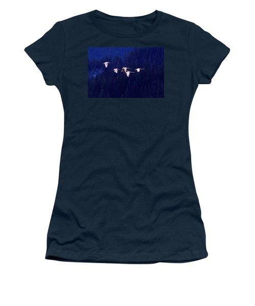 Flight Of The Swans Women's T-Shirt