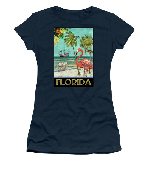 Women's T-Shirt (Athletic Fit) featuring the photograph Florida Advertisement by Hanny Heim