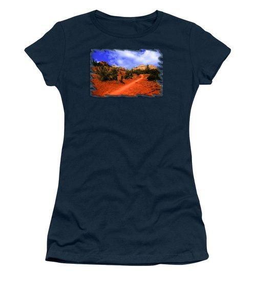 Follow Me Women's T-Shirt (Junior Cut) by Mark Myhaver