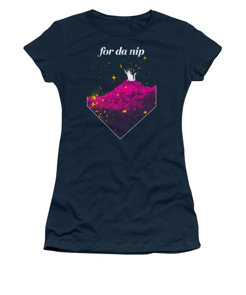 For Da Nip Women's T-Shirt (Junior Cut) by Mike Lopez