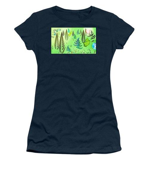 Forest Landscape Women's T-Shirt