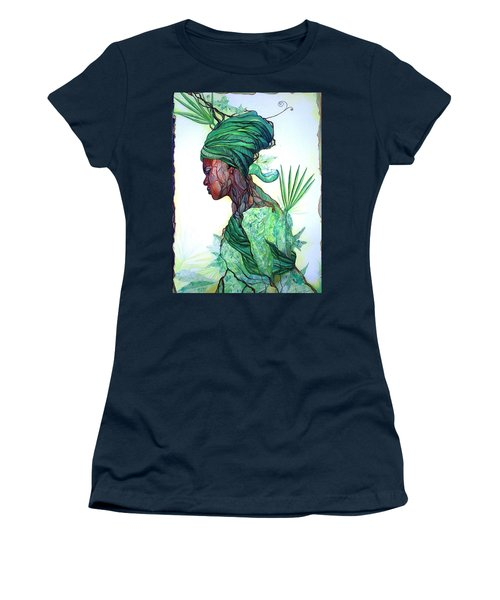 Forest Spirit Women's T-Shirt (Athletic Fit)