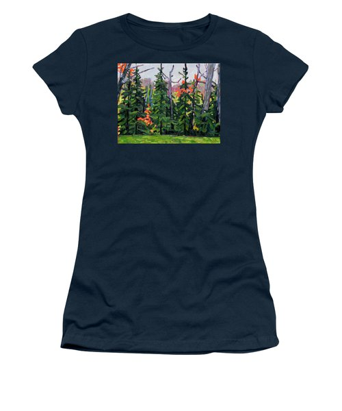Forest Wall Women's T-Shirt (Athletic Fit)