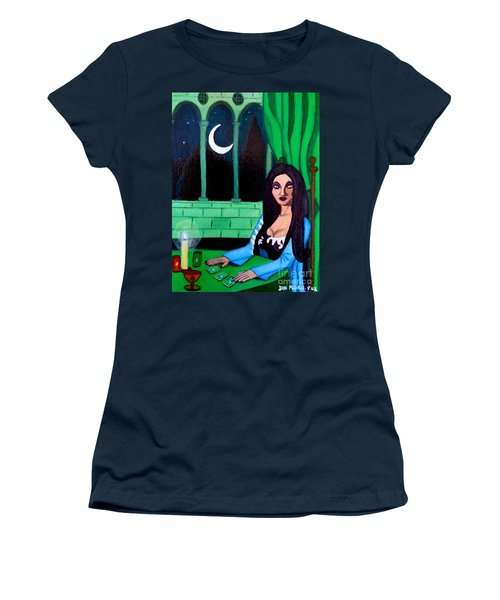 Fortune Teller Women's T-Shirt (Athletic Fit)