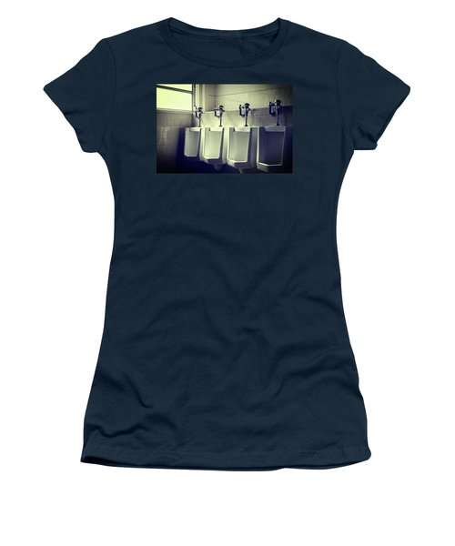 Four Urinals In A Row Women's T-Shirt